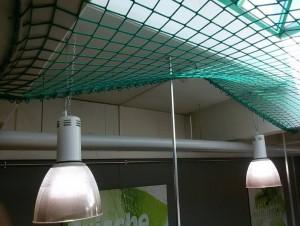Speyer Marktkauf  – Sicherheitsnetzmontage tragende Decke