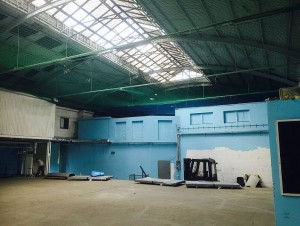 Aufffangnetze für Dachsanierung