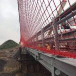 Seitenschutznetze Autobahn