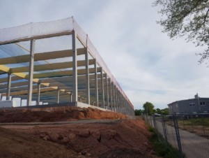 Sicherheitsnetze & Dachrandsicherung Montage Industriehallen Neubau Dietzenbach Frankfurt