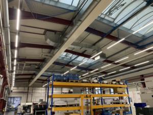 Absicherung von Lichtkuppeln in Öhringen