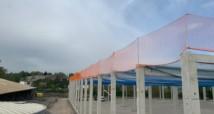 Absturzsicherung Netzmontage und Dachrandsicherung Heilbronn
