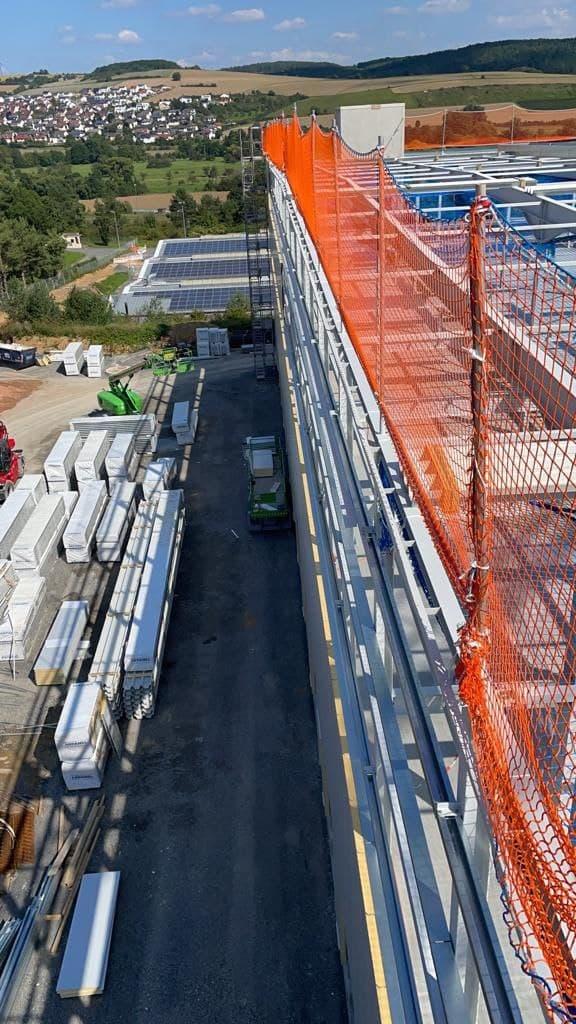 Dachkantenschutz Montage Firma